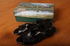 SAS Black Heel Sandal Womens Shoes Size 9 N