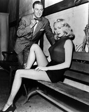 JOI LANSING 8X10 PHOTO LEGGY IN STOCKINGS