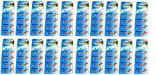 EUNICELL - 200 PILES  AG0  /  SR521  /  LR521 /  379  / SR521SW  1,5V ALCALINE