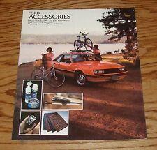 Original 1979 Ford Accessories Sales Brochure 79 Mustang Thunderbird