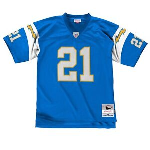 San Diego Chargers Ladainian Tomlinson #21 Mitchell Ness Blue 2002 Legacy Jersey