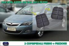 COPRI PEDALI OPEL ASTRA SW 2011 > coppia copripedale frizione + freno in gomma