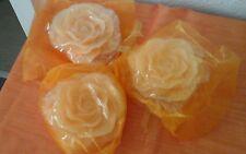 3D Elambia flammenlose Rosen im Organzabeutel, NEU