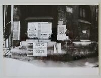 Photo ancienne 18x24 affiche RUE St SEVERIN Paris mai 68 poster may 1968 19
