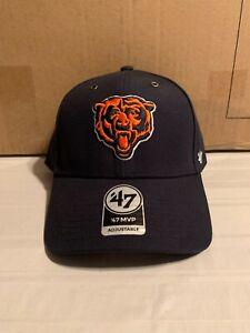 Chicago Bears NFL '47 Brand Carhartt Mens Navy MVP Adjustable Hat