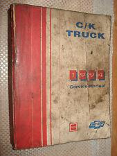 1994 CHEVY C/K TRUCK SHOP MANUAL SERVICE BOOK ORIGINAL