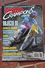 MOTO CRAMPONS N°68 HONDA CR 125 R YAMAHA YZ KTM MX SUZUKI RM GASTON RAHIER 1990
