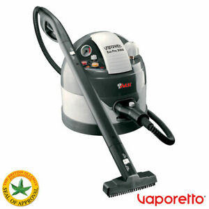 Polti Vaporetto Eco Pro 3.0 Steam Cleaner, Extension Hose, Large & Small Brush