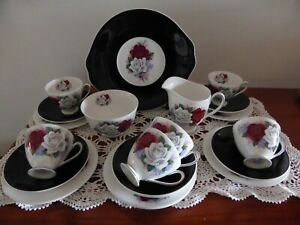 Queen Anne Tea Set 'Duet'