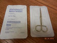 Nurse's Scissors Busse # 7246 Metal General Purpose Sharp/Blunt Sterile 2 pcs