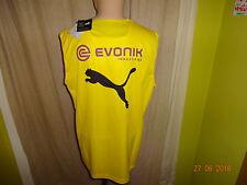 "Borussia Dortmund Puma Spieler Achsel Shirt,Tanktop 2014/15 ""EVONIK"" Gr.XL Neu"