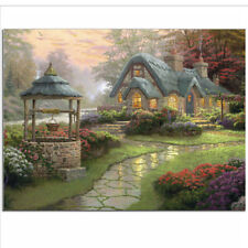 5D Diamond Painting Stone Trails House Embroidery Craft Cross Stitch Home DecorF
