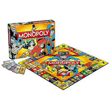 Monopoly DC Comics Original Retro Superman Batman Flash - Special Edition -