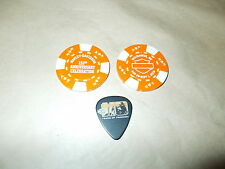 HARLEY DAVIDSON 2013 110TH ANNIVERSARY MILWAUKEE COLLECTIBLE POKER CHIP AND PICK