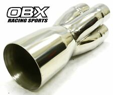 "OBX Merge Collector Its A 4-1 With 2-1/8"" ID Has Single pipe: 4.0"" OD"