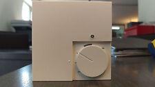 Elektronischer Raumthermostat weiß 230V Fußbodenheizung Aufputz Thermostat