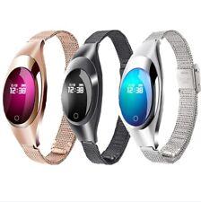 Women Smart Watch Bluetooth Bracelet Wristband Blood Pressure Heart Rate Monitor
