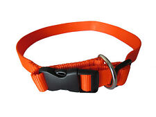 Tourbon Hunting Dog Collars Neck Strap Puppy Rope Quick Locked Nylon Adjustable