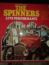 THE SPINNERS LIVE PERFORMANCE 1966 VINYL LP RECORD CONTOUR 6870502 EXCELLENT