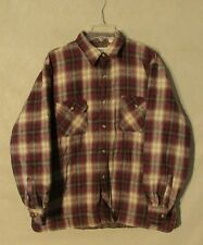 Z8803 Men's Lumber Jack Multi-Color Plaid Button Up Long Sleeve Jacket-XL
