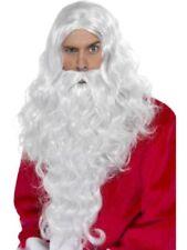 Parrucche e barbe natali per carnevale e teatro poliestere , prodotta in Spagna