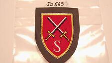 Bundeswehr asociación insignia de telecomunicaciones escuela mgst (sd569)
