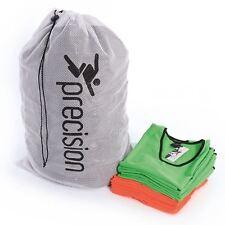 Precision Training Soccer Bib Bag Carry Bag Basketball Sports Wash Bib Mesh Bag