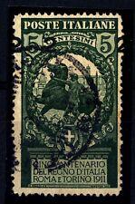 ITALIA - Regno - 1913 - Francobolli del 1911 sovrastampati  2 su 5 c. - varietà