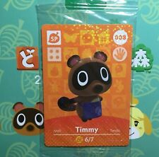 Timmy Amiibo Card 008 Animal Crossing NA FACTORY SEALED *Authentic*
