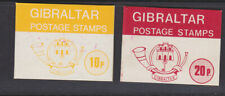 Gibraltar 2x unused stamp booklets