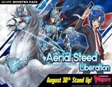 Cardfight!! Vanguard V: Aerial Steed Liberation Booster BOX CARD PACK SEALED NEW