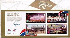 2012 Ricordi di Londra 2012 CONF. no.476 confezione di presentazione unmounted Nuovo di zecca