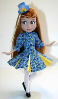 "Flirty Dress, Hat and Thigh Highs for 14"" Patience Dolls Tonner"