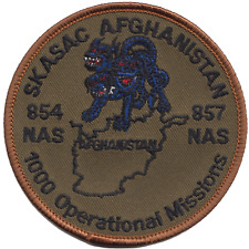 854/857 NAS Sea King Airborne Surveillance and Control SKASaC Embroidered Patch