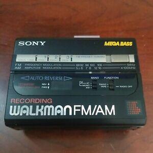 Vintage Retro 80's Sony Walkman WM-BF67 Radio Casette-Corder