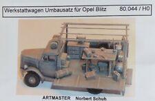Artmaster 80.044 Werkstattwagen Umbausatz für Opel Blitz H0 1:87 Bausatz Resin