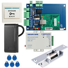 TCP/IP Network Access Control Board Panel Controller W/ Reader Strike Lock Tags