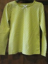 UNWORN Girls Yellow Spotted Top Age 5 Years LOVELY!