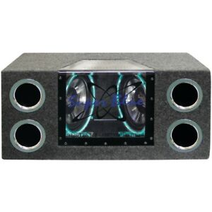 """PYRAMID BNPS102 Dual Bandpass System with Neon Accent Lighting (10"""", 1,000 Wa..."""