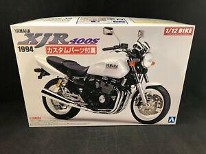 Aoshima 1994 Yamaha XJR 400S 1:12 Scale Plastic Model Kit 53263 New in Box