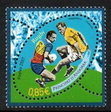ANDORRA (FRENCH) MNH 2007 Rugby
