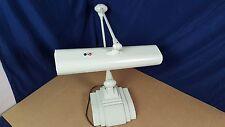 VTG Industrial ART DECO Desk Lamp Art Specialty Co. Flexo Drafting Lamp Ivory VG
