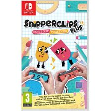 Snipper Clips Plus Cut It out Together Nintendo Switch Game