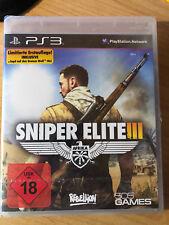 Sniper Elite III - Afrika -- Limitierte Erstauflage (Sony PS 3, 2015) * NEU