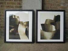 More details for pair of designer trowbridge gallery large framed architectural art photographs