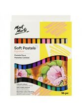 Mont Marte Soft Pastels 36 Colours