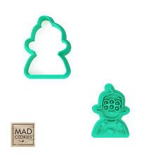 Tribore cookie stamp. Tribore cookie cutter. Final Space Cartoons cookies