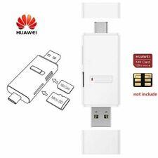 Lettore HUAWEI scheda memoria Micro SD e Nano Memory Card con porte USB e Type C