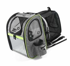 New listing Pecute Pet Carrier Backpack, Dog Carrier Backpack, Expandable with Breathable.