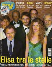 rivista TV SORRISI E CANZONI ANNO 2004 NUMERO 16 TELEGATTI